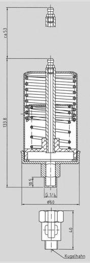 SBS 120 tank measurements